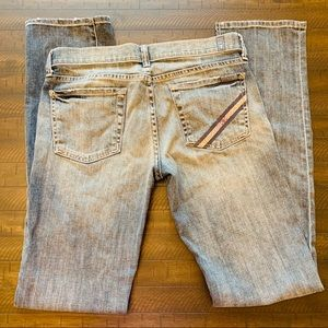 7 For All Mankind - Straight Cut - Light Washed